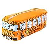 Hunpta Trousse motif bus de chats pour enfant et étudiant