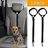 Docamor Adjustable Dog Seat Belt Dog Harness Pet Car Vehicle Seat Belt Pet
