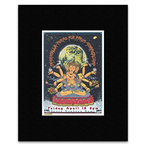 PORNO FOR PYROS - Santa Barbara Bowl 1997 Matted Mini Poster - 27x19.5cm Santa Barbara Bowl