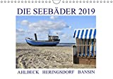 Die Seebäder 2019 (Wandkalender 2019 DIN A4 quer): Impressionen der Kaiserbäder: Ahlbeck, Heringsdorf, Bansin (Monatskalender, 14 Seiten ) (CALVENDO Orte)