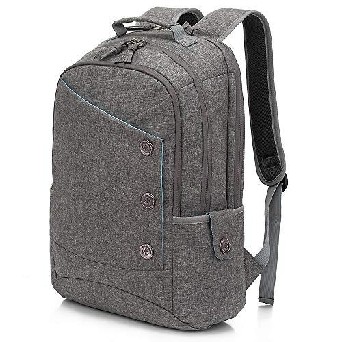 KINGSLONG Rucksack Laptop Rucksack Student Rucksack Reiserucksack, geeignet für Herren und Damen Rucksack 15,6-Zoll-Rucksack mit großer Kapazität