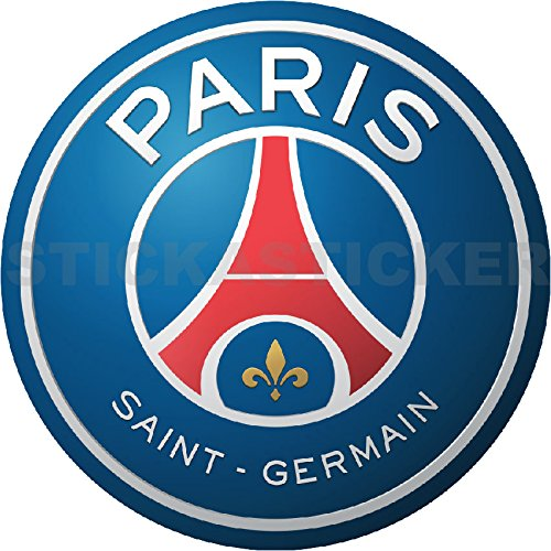 Sticker Autocollant Logo Emblème Football Paris Saint Germain Hauteur 10cm