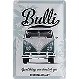 Nostalgic-Art 22213 Volkswagen - VW Bulli - Good Things Are Ahead of You, Blechschild 20x30 cm