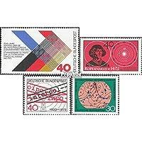 RFA (FR.Allemagne) 753,758,759,760 (complète.Edition.) 1973 contrat, astronome, interpol, temps (Timbres pour les collectionneurs)