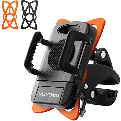 VOYOMO Handyhalterung Fahrrad Universal Handyhalter Fahrradhalter für iPhone Samsung Nexus Smartphones GPS-Geräte