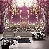 SHENCHI Art Decó 3D Fondo de pantalla Para el hogar Contemporáneo Revestimiento de pared , Lienzo Material adhesiva requerida Mural , , xxl