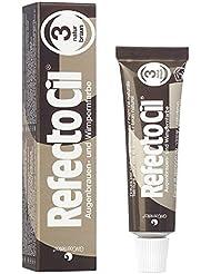 RefectoCil® Wimpernfarbe Augenbrauen, Färbemittel 3 Naturbraun Haare 15 ml