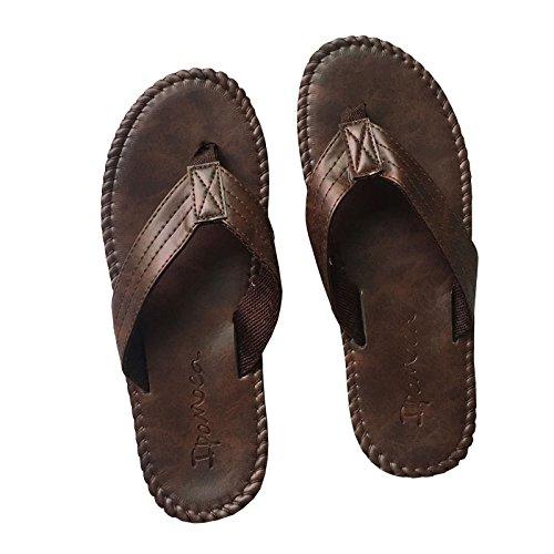 0c0f3c2e4b3b XING GUANG Hommes Sandales D été Nouveau Caoutchouc Flip-Flops Mâle Flip  Flip Flippers Mode Extérieure Britannique