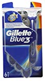 Gillette Blue III Disposable Razors - Pack of 6