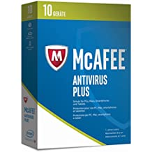 McAfee AntiVirus Plus 2017 - 10 Geräte Minibox [Online Code]