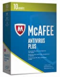 McAfee AntiVirus Plus 2017 | 10 Geräte | 1 Jahr | PC/Mac/Smartphone/Tablet | Download