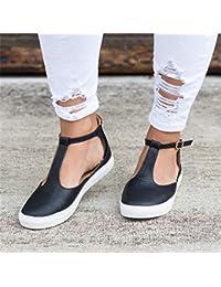 QIMITE Chancletas Verano Sandalias De Mujer Moda Mujer Puntera Cerrada Zapatos Planos Mujer Calzado Femenino Sandalias