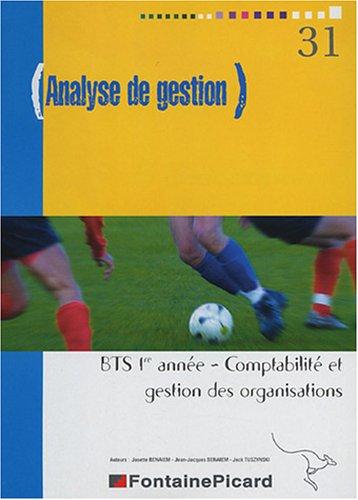 Analyse de gestion BTS CGO 1re année