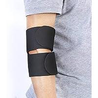 Protector de codo, almohadillas de soporte ajustables transpirables y flexibles para la articulación, alivio del dolor por artritis, tendinitis, recuperación de lesiones deportivas y cuidado diario de