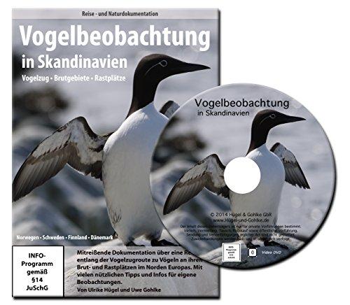 Vogelbeobachtung in Skandinavien - Vogelzug, Brutgebiete und Rastplätze in Norwegen, Schweden, Finnland und Dänemark