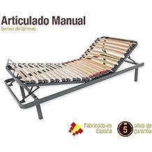 Somier Articulado Manual. DISPONIBLE EN TODAS LAS MEDIDAS (135 x 190 cm)
