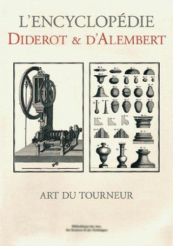 Art du Tourneur - Bibliotheque des Arts, Sciences et Techniques
