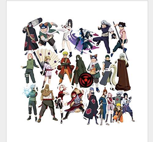 Doodle Aufkleber Naruto Serie Pvc Wasserdichte Aufkleber 51 Blatt - Decal Baum Laptop