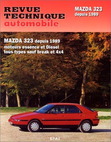 revue technique automobile mazda 323 depuis 1989 moteurs essence et diesel sauf 4 x 4 et break. Black Bedroom Furniture Sets. Home Design Ideas
