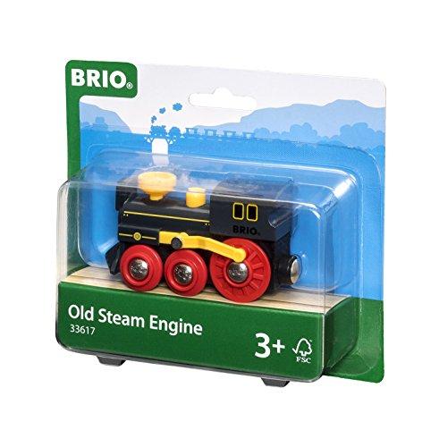 Brio - Locomotora de vapor antigua (33617)