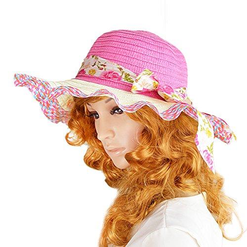 blume band dekoration staw neue 2015 designermarke sonnenhüte für frauen halskrause sonnenhut (Band Sonnenhut)