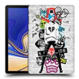 Head Case Designs Offizielle 5 Seconds of Summer Money Sticker Bomb Ruckseite Hülle für Samsung Galaxy Tab S4 10.5 (2018)