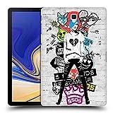 Head Case Designs Offizielle 5 Seconds of Summer Money Sticker Bomb Ruckseite Hülle für Samsung Galaxy Tab S4 10.5 (2018)