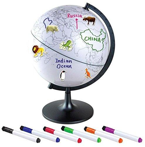 Globus, Lernglobus mit Stiften und Stickern