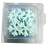 #4: Saby Food Snowflakes edible cake decoration- 12 pc