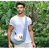 xiaohang dang 【Manos Libres Bolsa para Mascotas, para Viajes al Aire Libre, Suave y cómodo