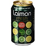 Laimon Fresh - Refresco con lima, limón y menta - 33 cl - [pack de 12]
