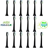 16 Pcs 4x4 – Price For 1 Each Sohv® (HX 6064) Replacement Toothbrush Heads Compatible With Philips Sonicare DiamondClean Black Replacement (Black). Fully Compatible with the following Electric Toothbrush by Philips Models: DiamondClean, FlexCare Sonicare Sonicare FlexCare Platinum, FlexCare (+), HealthyWhite, 2, 3 Series, Easy Clean And PowerUp