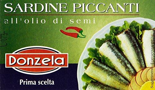 Donzela - Sardine Piccanti, all'Olio di Semi, 125 g