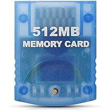 Link-e - Carte mémoire grande capacité 512mb (4x2043 Blocks) compatible avec les consoles Nintendo Wii et Gamecube