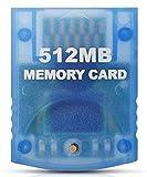 Link-e - Scheda Di Memoria Ad Alta Capacità Da 512 Mb Per Salvare La Console Di Gioco Nintendo Wii E Gamecube