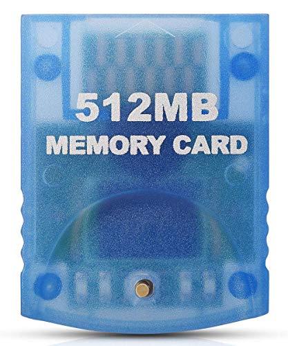 Link-e - Speicherkarte Mit Hoher Kapazität 512mb Für Die Nintendo Wii Und Gamecube Konsole