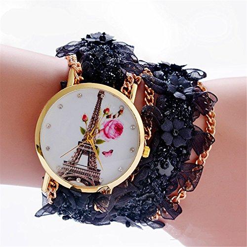 mixe-handmade-knitted-jewelry-watch-women-ladies-bohemia-love-heart-eiffel-tower-heel-cloth-flower-w