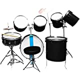 AMBITION Professional Drum Set and Throne - Pack of 9