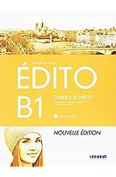 Descargar gratis EDITO B1 EXERCICES+CD ED.18 en .epub, .pdf o .mobi