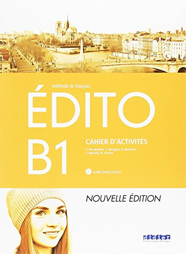 EDITO B1 EXERCICESCD ED.18