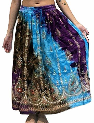 Buntes Pailleten-Kleid, im indischen Stil Gr. M, 18 (Königreich Sports World)