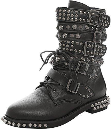 trusify-scarpe-donna-eleganti-truwildcate-tacco-a-blocco-3cm-leather-stivali-nero-d-40