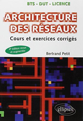 Architecture des Réseaux Cours et Exercices Corrigés par Bertrand Petit