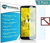 Slabo 3 x Premium Panzerglasfolie für Motorola Moto G6 Play Panzerfolie Schutzfolie Echtglas Folie Tempered Glass KLAR 9H Hartglas