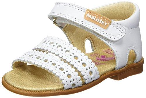 Pablosky 005100, Sandales fille Blanc