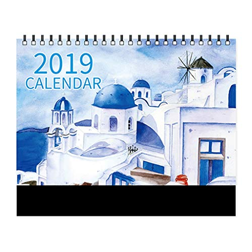 Simple 2019 Calendar Desktop Office Weekly Plan Calendar for sale  Delivered anywhere in Ireland