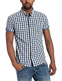 Timezone Shortsleeve shirt - Chemisier - coupe droite - Manches Courtes - Homme