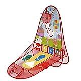 Gioca Tenda, OUTAD Palla Tenda del Gioco Casa di Pallacanestro Carrello Tenda Ocean Ball Pool giocattoli per bambini Scoring