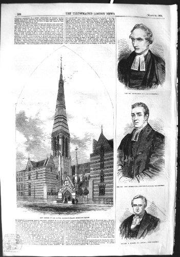 Abgeordneter 1855 Kirchen-Heilige Cavendish Sinclair Jennings