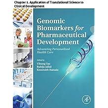 genomic biomarkers for pharmaceutical development yao yihong jallal bahija ranade koustubh